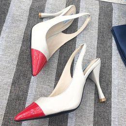$enCountryForm.capitalKeyWord Australia - 2019 top quality design design dress new womens high heels Korean version of the Baotou hollow sexy highheeled sandals wild single with ql