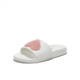 $enCountryForm.capitalKeyWord NZ - Design Shoes Love the white 2019 Summer Season With The New Trendy Stylish Ladies' Slippers And Bow-Bottom Flip-Flops Woman shoes Bowknot