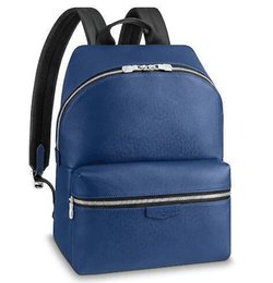 $enCountryForm.capitalKeyWord NZ - M33453 Discovery Backpack Pm Men Fashion Blue Real Caviar Lambskin Le Boy Chain Flap Bag Handbags Shoulder Messenger Bags Totes