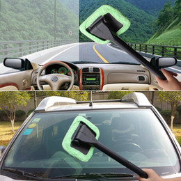 $enCountryForm.capitalKeyWord Australia - One Piece Light Green Car Window Brush Glass Cleaner Wiper Scraper Brush Cleaning Tool Free Shipping