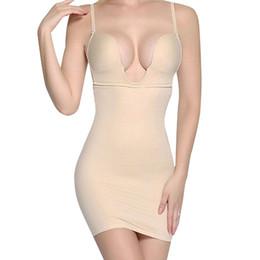 Sexy full body Shapewear online shopping - Ningmi Women Slimming Shapewear Bodysuit Sexy Cup Bras Wedding Bodysuit Hot Body Shaper Waist Trainer Camis Slim Full Slip Dress T190627