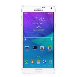Quad Core Phone Samsung Australia - Refurbished Original Samsung Galaxy Note 4 N910F N910A N910V N910T N910P 5.7 inch Quad Core 3GB RAM 32GB ROM 16MP LTE 4G Phone DHL 10pcs