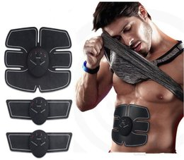 $enCountryForm.capitalKeyWord Australia - Hot Smart EMS Wireless Electric Massager Abdominal Muscle Toner ABS Fit Muscle Stimulator Abdominal Muscles Trainer DHL free