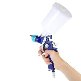$enCountryForm.capitalKeyWord Australia - Gravity Feed Paint Spray Gun Professional Airbrush aerografo Car Furniture Finishing Coat Painting Spraying Tool 1.4mm600cc