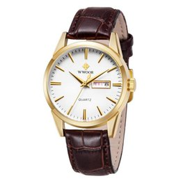 $enCountryForm.capitalKeyWord UK - Genuine Brand Men's Watch Waterproof Leather Belt Steel Buckle Men's Watch Week Calendar Pointer Watch Wholesale