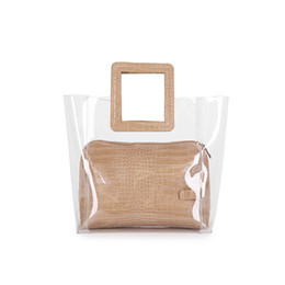 39a0edbab823 Designer- New Luxury Handbags Women Bags Designer Fashion Ladies  Transparent PVC Handbag Bag Female Pu Leather Sac A Main Bolsas Feminina