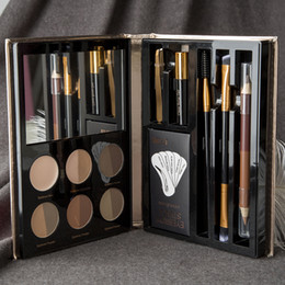 Makeup pen kits online shopping - Professional Makeup Set Eyebrow Pen Eye Highlighter Eyebrow Brush Make up Set Kit For