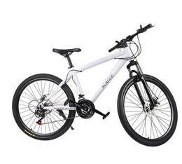 21 Velocità 26 pollici Bike unisex Dual Disc Freni Mountain Road Mountain Bike Ciclismo Cuscino impermeabile