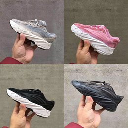 $enCountryForm.capitalKeyWord Australia - Cheap High quality kids gray running shoes boys black girls white sports Shoes outdoor sneakers size 28-35 chaussures de course Enfant