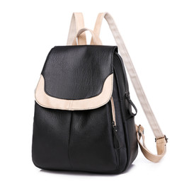 urban phone UK - Korean version of bags 2019 new women's PU backpack urban simple trend backpack popular in autumn and winter
