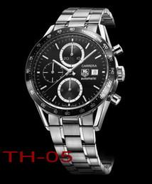 2018 новый топ мужчин TAG Heuer CARRERA F1 часы из нержавеющей стали автоматические часы с механизмом движения мужские наручные часы на Распродаже