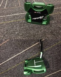 Wholesale Lastest Model Green Spider Golf Putter +Putter Headcover More Pics Contact Seller 2pcs get big Discounts and DHL shipping