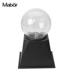 $enCountryForm.capitalKeyWord Australia - Strange Magic Crystal Light Magic Crystal Globe Lightning Music Home Decor Magic Crystal Lamp Plasma Ball 4Inch