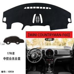 Venta al por mayor de 2017-2018 MINI F60 JCW COUNTRYMAN Coche de cuero Tablero del tablero de instrumentos tablero de la cubierta del tablero de instrumentos esteras