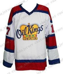 Oil Quick Australia - Custom Edmonton Oil Kings Retro Hockey Jersey New Semchuk Personalized stitch any number any name Mens Hockey Jersey XS-5XL