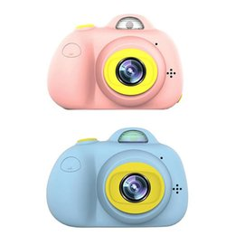 Toy Camera Photography Australia - 2 Inch HD Screen Chargable Digital Mini Camera Kids Cartoon Cute Camera Toys Outdoor Photography Props for Child Birthday Gift