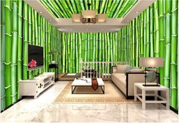 theme wallpaper NZ - 3d wallpaper custom photo mural Bamboo forest flower wall 3D stereo theme space background wall home decor murals wallpaper for walls 3 d
