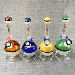 bongs stems Australia - Colored glass water pipes hot sale glass beaker bongs hand made hookah glass water bongs male mouth 14.5mm link smoking stem and bong bowl
