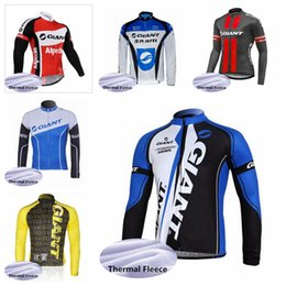 $enCountryForm.capitalKeyWord Australia - GIANT team Cycling Winter Thermal Fleece jersey Cycling Jacket Windproof women Breathable pro Bicycle Jersey Clothes Sportswear H70205