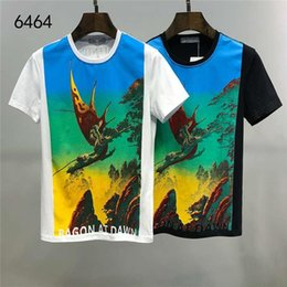 valentino shirt Australia - 2020 Summer New Designer