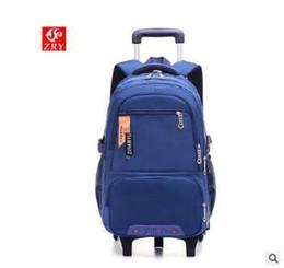 $enCountryForm.capitalKeyWord NZ - Ziranyu School Wheeled Backpack Bags For Boys Children Trolley Backpacks For School Kids Backpack On Wheels Student Rolling Bags