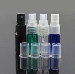 small atomizer sprays 2019 - Wholesale- Hot Sale New Small Spray Bottles Multiple Colour 50Pcs Bag 10ml Empty Perfume Cosmetic PET Atomizers Make dis