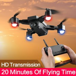Helicopters Toys Camera Australia - SMRC S20 Drone With Hd 1080p Wifi Camera Quadrocopter Hovering Fpv Quadcopters 5mp Folding Rc Helicopter Storage Bag Toy For Boy