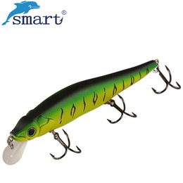 china jigging lures Australia - lures china Smart Minnow Bait 110mm 13.7g Fishing Lures China Floating 1.0 m Fly Fishing Iscas Artificial Para Pesca Hard Bait Wobblers