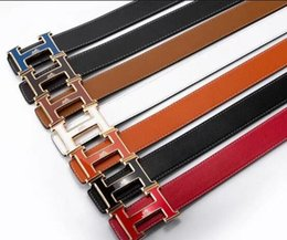 italy leather belt Canada - hot 2020 Arrival Luxury belt Men Designer Belts Women High Quality Male Casual genuine Real leather big logo italy buckle belt men women