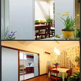 $enCountryForm.capitalKeyWord NZ - SUNICE VLT0% White Building Decoration Solar Tint Film Frosted Opaque Window Foils Self Adhesive Window Sticker Privacy 1.52x15m
