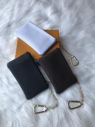 Wholesale short white fashion dresses for sale – plus size Special colors Key Pouch Zip Wallet Coin Leather Wallets Women designer purse