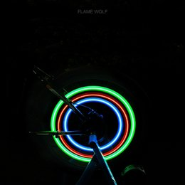 Led car day running online shopping - 10 New Bicycle Tyre LED Lights Night Riding Car Light Atmosphere Light Day Running Rotating Warning Green Blue Red