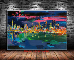 $enCountryForm.capitalKeyWord NZ - City By The Bay , Canvas Pieces Home Decor HD Printed Modern Art Painting on Canvas (Unframed Framed)
