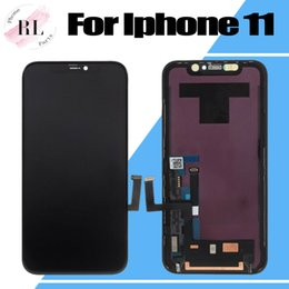 lcd screen touch fix NZ - 5PCS For iPhone 11 LCD Screen OEM Screen With Touch Digitizer Display Dropshipping Digi Assembly Repair Fix Replacement