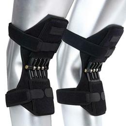1 пара наколенников дышащий альпинистская сила поддержка колена прочность коленного сустава стабилизатор колодки эластичный усилитель стабилизатора на Распродаже