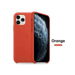 iphone suit NZ - W  LOGO Original Silicone Cases Suit For New iPhone 11 Pro  MAX Liquid Silicone Case Cover