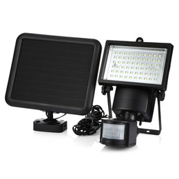Solar motion detectorS online shopping - SL LED Super Bright Waterproof Solar Powered PIR Motion Detector Door Wall Lamp for Outdoor Garden Security Lamps