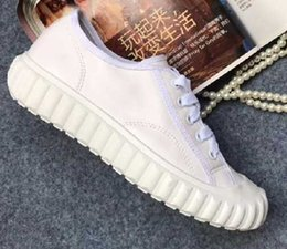 $enCountryForm.capitalKeyWord NZ - 2019 New Style woman breathable round toe Lace-Up Pure color Genuine Leather Casual Shoes size:35-39 Free shipping AD30