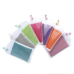 $enCountryForm.capitalKeyWord Australia - 30*90CM Sports Cold Towel 10 Colors Summer Quick-dry Ice Towel Fitness Athlete Cool Towel 50 Pieces DHL
