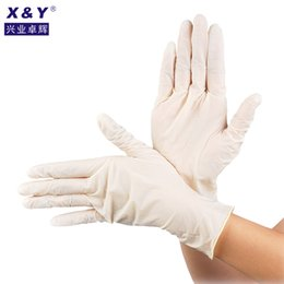 GardeninG Glove online shopping - Heavy Duty Disposable White Latex Powder Free Examination Dishwashing Nitrile Gloves mm pairs Bag for Househood