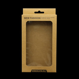 $enCountryForm.capitalKeyWord Australia - kraft brown Paper Retail Packaging Carton Box For iphone 8 7 6 Plus 5 mobile Cell Phone Case big size