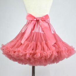 $enCountryForm.capitalKeyWord NZ - New Princess Girls Tutu Skirt Ballerina Pettiskirt Fluffy Children Ballet Skirts For Party Dance Princess Women Tulle clothes