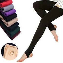 Fashion Casual Warm Faux Velvet Winter Leggings Women Leggings Knitted Thick Slim Women Leggingss Woman Solid Pants