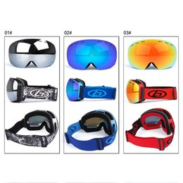 goggle ski anti uv NZ - Outdoor Ski Goggles Double Lens Men Oculos Skiing Unisex Snow Snowboarding Cycling Glasses Gafas Winter UV Anti-Fog Lens