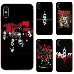 coolest cases for iphone 5s Australia - Custom Soft Silicone TPU Transparent Cover Cases For Apple iPhone 11 Pro X XS Max XR 4 4S 5 5C 5S SE 6 6S 7 8 Plus Slipknot Rock Cool