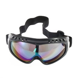 Frame Goggles Ski UK - Motorcycle Dustproof Motocross Sunglasses Ski Snowboard Moto Goggles Lens Frame Eye Glasses