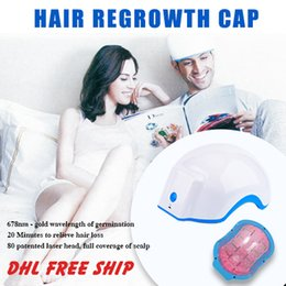 hair loss product NZ - Faster hair growth products natural hair loss treatment hair regrowth cap with full coverage of scalp
