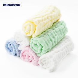 $enCountryForm.capitalKeyWord Australia - 100% cotton Baby gauze saliva towel baby cotton small square towel newborn gift box six-piece children soft handkerchief