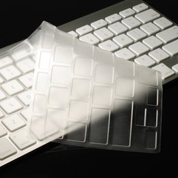 Imac Macbook Australia - NEW ARRIVAL! CLEAR Keyboard Cover Skin for iMac Keyboard G6 Wireless Protector Cover Skin