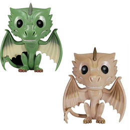 Game Thrones Toys UK - Game of Thrones Drogon Rhaegal Viserion 20# 22# Funko Pop Anime Figure Valentine's Day Gifts Toys Birthdays Hot Sale Free Shipping